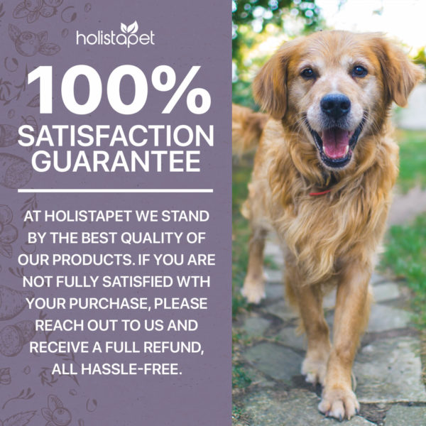 holistape hemp extract dog treats 100% satisfaction guarantee stand by the best quality of our products. If not fully satisfied reach out and receive full refund hassle free
