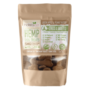 HolistaPet Hemp Stress and Anxiety Front
