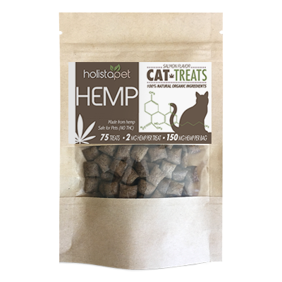 HolistaPet – Hemp Cat Treats 150mg – 2mg Per Treat