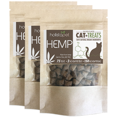 Bundle & Save: 3 Bags Cat Treats 150mg – 2mg Per Treat